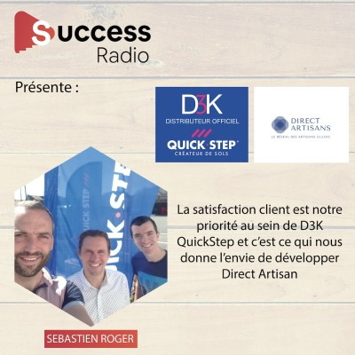 Sebastien Roger D3K Quick Step et Direct Artisans cover