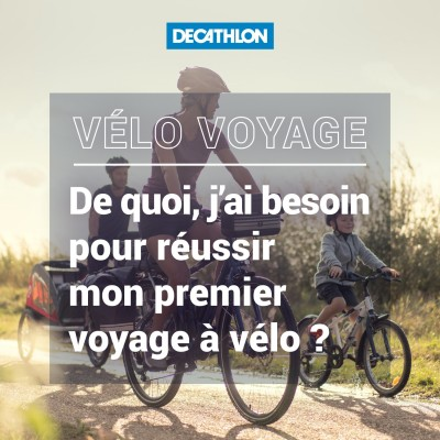# 38 Vélo voyage - De quoi, j'ai besoin pour réussir mon premier voyage à vélo ? cover