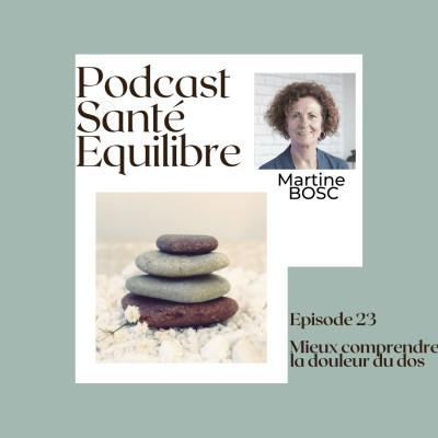 Episode 23 - Mieux comprendre la douleur du dos - cover