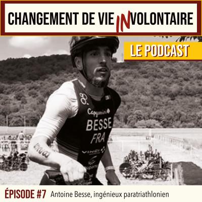 Episode #7: Antoine Besse, ingénieux paratriathlonien cover