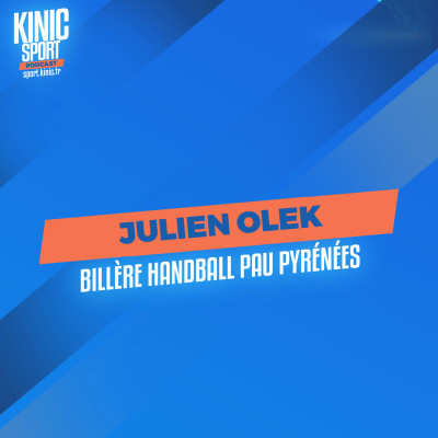 #13 - Julien Olek : Billère Handball Pau Pyrénées cover