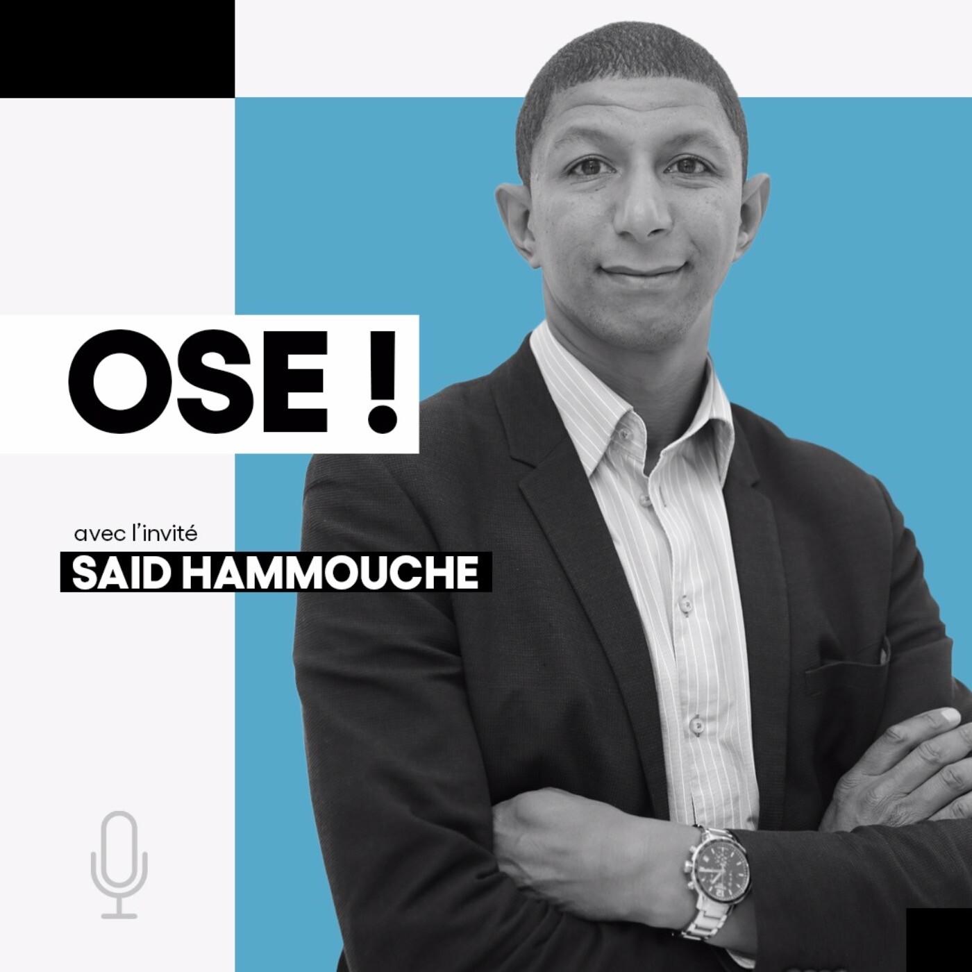 Saïd Hammouche, Entrepreneur social, Président-Fondateur de Mozaïk