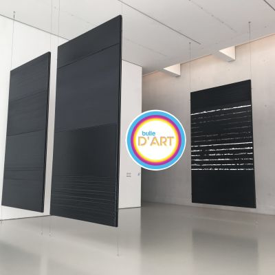 image [n°17] Pierre Soulages, noir c'est (pas si) noir, au Musée Fabre de Montpellier