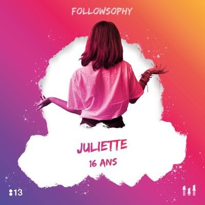 :13 Juliette - 16 ans : Arrêter de voir le monde avec un filtre ! cover