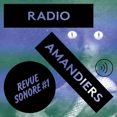 RADIO AMANDIERS #1 - BERTRAND MANDICO / PIERRE DESPRATS cover