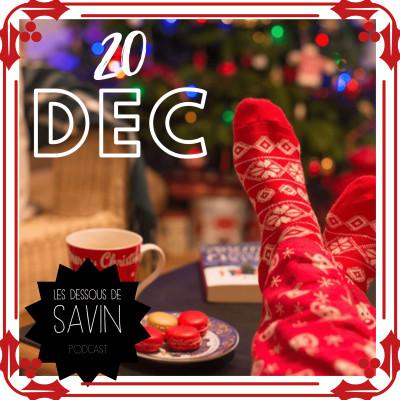 """#20 - """"Savin de Noël"""" - 20 décembre cover"""