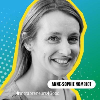 Anne-Sophie Nomblot, responsable valorisation et innovation à la SNCF cover