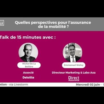 June Talk #25 Les transformations de l'assurance face aux tendances de la mobilité cover