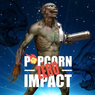 #031 - Popcorn Zero Impact - Jurassic Park 4 cover