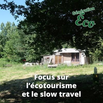 Focus sur l'écotourisme et slow travel cover