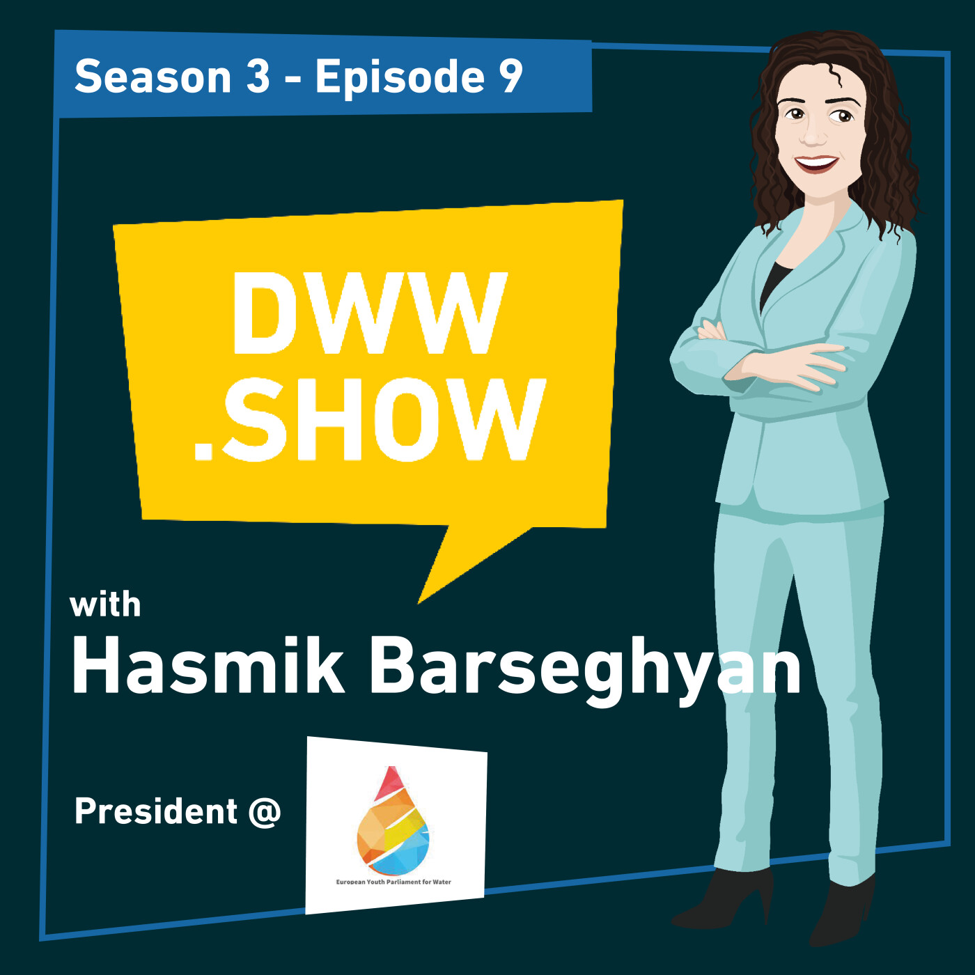S3E9 - How to Speak Up and Empower More Young Water Professionals