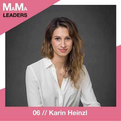 06. Karin Heinzl über den Drang sich trotz Kindern beruflich zu verwirklichen cover