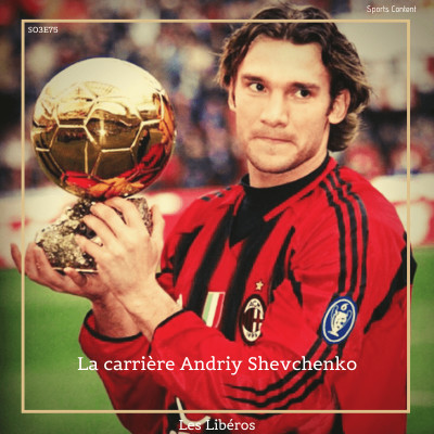 La carrière d'Andriy Shevchenko cover