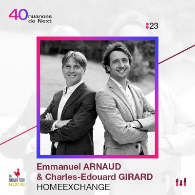 :23 Part 2 - Emmanuel Arnaud & Charles-Edouard Girard - HomeExchange : sur le Canap cover