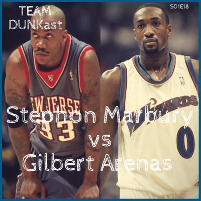 Team Dunkast - Stephon Marbury vs Gilbert Arenas cover