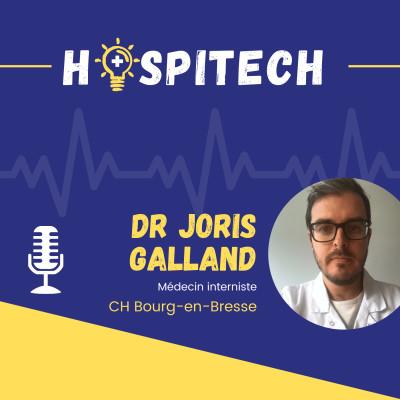 Dr Joris Galland - CH Bourg-en-Bresse - Acculturer et former les professionnels de santé au numérique cover