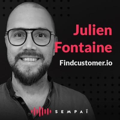 Findcustomer.io avec Julien Fontaine cover