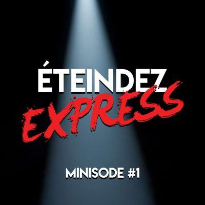 image Minisode n°1: Éteindez Express, une publicité pour les Podradio Podcast Awards