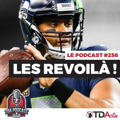 TDA Podcast n°258 - Débrief S8 : revoilà Seattle ! cover