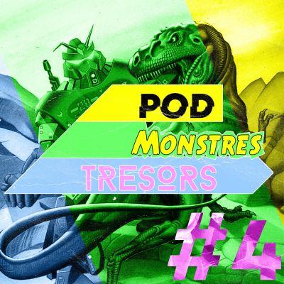 Pod Monstres Trésors - Ep 4 : Keine Lust [Gran. Men. Robots Part.2] cover