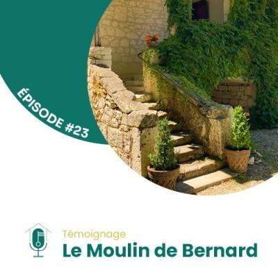 #23 - Rencontre avec Cédric Andrieux du gîte de groupe Le Moulin de Bernard cover