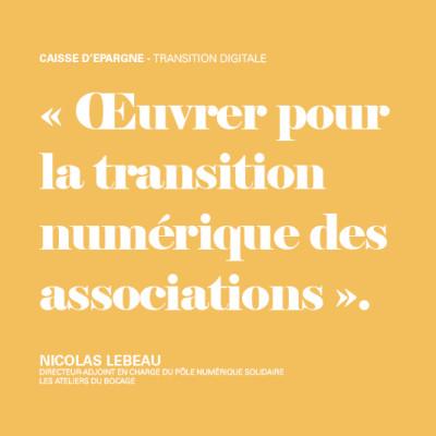 Œuvrer pour la transition numérique des associations cover