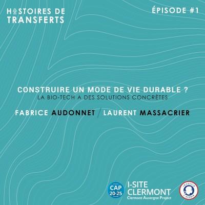 Histoires de Transferts - Fabrice Audonnet & Laurent Massacrier cover