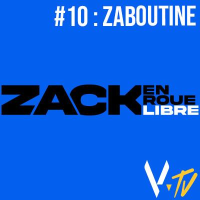 Zack en Roue Libre n°10 : Zaboutine cover