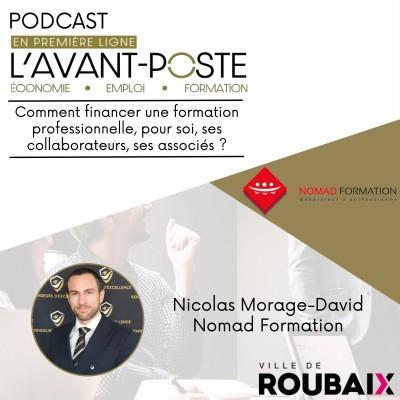 Nicolas Morage David - Nomad Formation cover