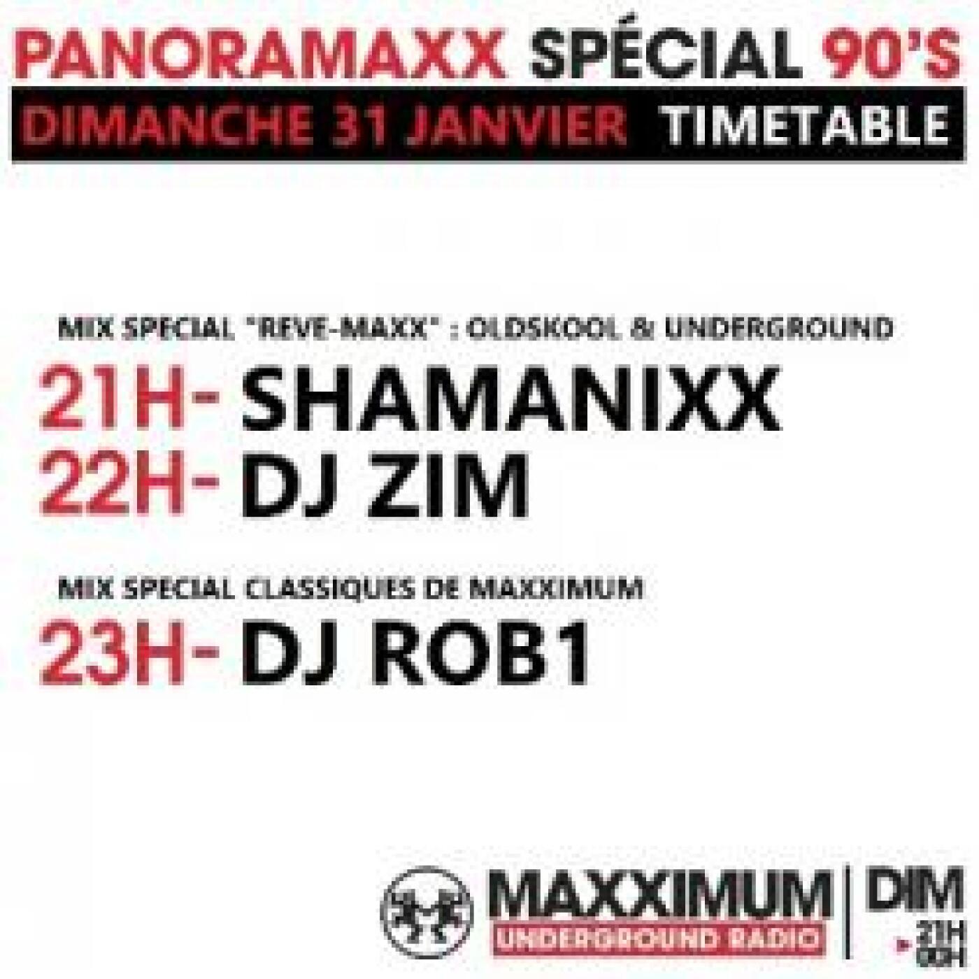 PANORAMAXX 90'S : DJ ROB1