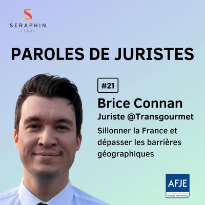 #21 - Brice Connan - Sillonner la France et dépasser les barrières géographiques cover