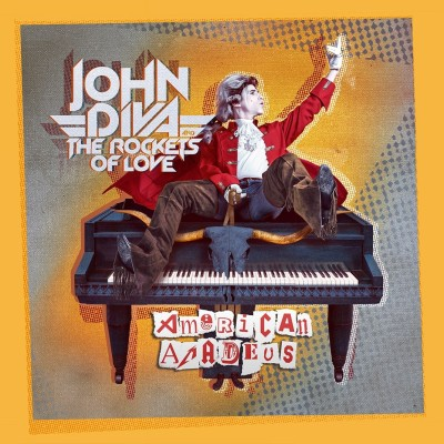 213Rock Harrag Melodica Podcast Live Interview with John Diva and The Rockets of Love New album American Amadeus  25 01 2021 cover
