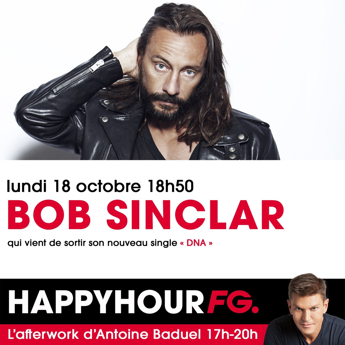 HAPPY HOUR INTERVIEW : BOB SINCLAR