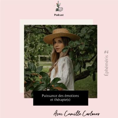 Éphéméris #4 - Puissance des émotions et thérapie(s) avec Camille Corlouer cover