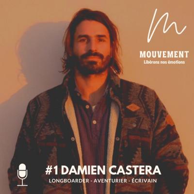 #1 Damien Castera - l'écriture, le plus beau des voyages cover