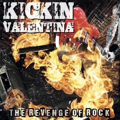 Vinylestimes 213Rock Harrag Melodica Podcast Live interview with Chris Taylor  DK Revelle of Kickin Valentina New album The Revenge of Rock cover