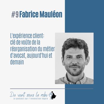 Fabrice Mauléon - L'expérience client : clé de voûte de la réorganisation du métier d'avocat, aujourd'hui et demain cover