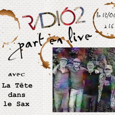 RADIO162 part en live (La tête dans le sax) cover