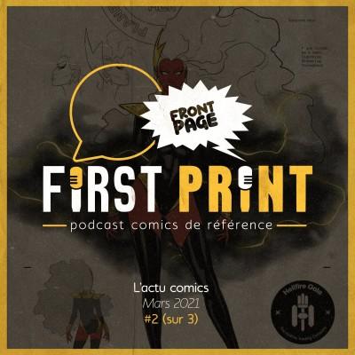 Front Page : l'actualité comics de mars 2021 #2 (sur 3) ! cover