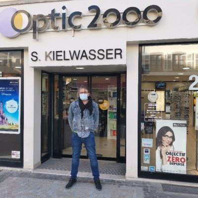 OPTIC 2000 KIELWASSER SELESTAT - Commerçants et confinement cover