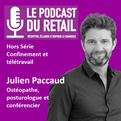 """Hors-Série 4 Reconfinement. Julien Paccaud """"Adopter les bonnes postures et les bons réflexes en télétravail et en magasin"""" cover"""