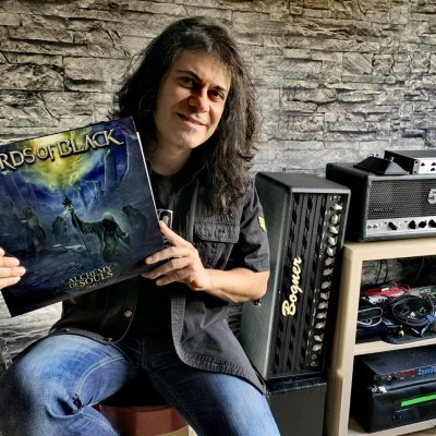 213Rock Podcast Harrag Melodica Interview with Tony Hernando Lords of Black New album Alchemy Of Souls – Part 1  16 12 2020 cover