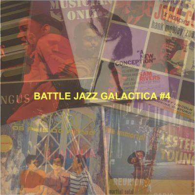 BATTLE JAZZ GALACTICA #4 cover