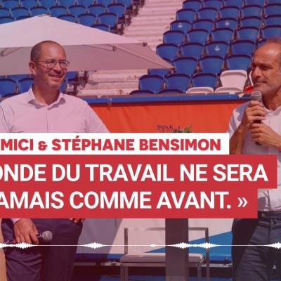 """Mehdi Hemici & Stéphane Bensimon : """"Le monde du travail ne sera plus jamais comme avant"""" cover"""