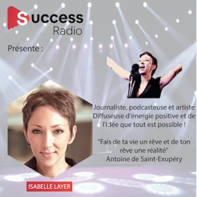 Isabelle Layer : Journaliste, podcasteuse, artiste cover