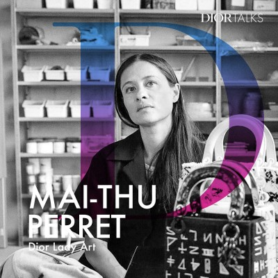 [Lady Art] Mai-Thu Perret on Exploring the Chamaeleon Qualities of the Lady Dior cover