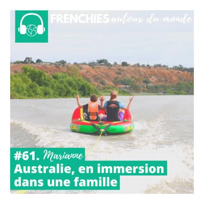 #61. Marianne, Australie, vivre dans une famille en immersion cover
