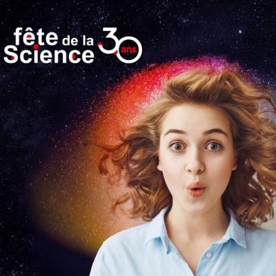 Participez aux 30 ans de la Fête de la science cover