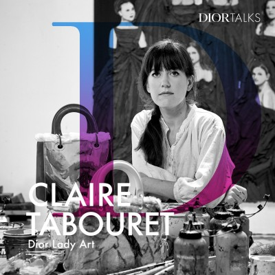 [Lady Art] Claire Tabouret on Exploring Wearable Art with the Lady Dior cover