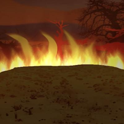 (05) La colline de feu cover